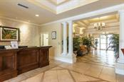 SECURED ENTRANCE AND SPRAWLING LOBBY - Condo for sale at 1064 N Tamiami Trl #1306, Sarasota, FL 34236 - MLS Number is A4473065