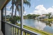 Lanai view. - Condo for sale at 977 Sandpiper Cir #977, Bradenton, FL 34209 - MLS Number is A4474554