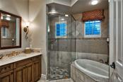 En-Suite Bathroom - Single Family Home for sale at 8499 Lindrick Ln, Bradenton, FL 34202 - MLS Number is A4475594