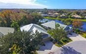 Aerial view of cultural-de-sac location. - Villa for sale at 4812 Lakescene Pl, Sarasota, FL 34243 - MLS Number is A4486070