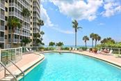 Community Pool with Gulf Views - Condo for sale at 6300 Midnight Pass Rd #701, Sarasota, FL 34242 - MLS Number is A4496847