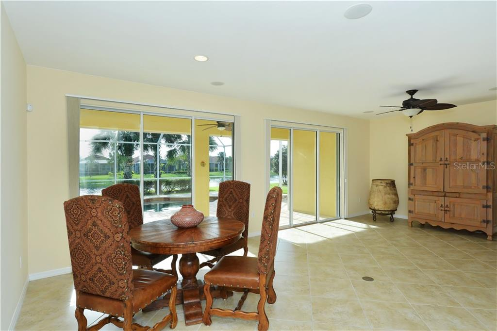 Great room - Single Family Home for sale at 19168 Jalisca St, Venice, FL 34293 - MLS Number is N5912651