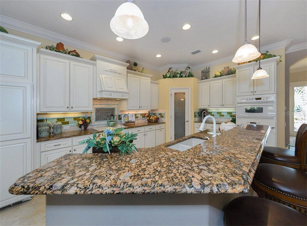 Kitchen - Single Family Home for sale at 20122 Passagio Dr, Venice, FL 34293 - MLS Number is N5914419