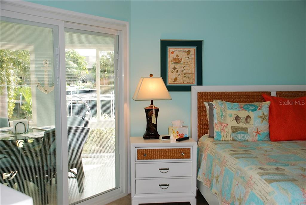 Master Bedroom/View - Single Family Home for sale at 600 Portia St N, Nokomis, FL 34275 - MLS Number is N5914547