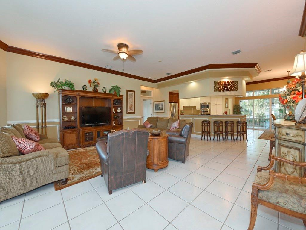 Great Room - Popular Open Floor Plan Concept - Single Family Home for sale at 200 Sunrise Dr, Nokomis, FL 34275 - MLS Number is N5914820