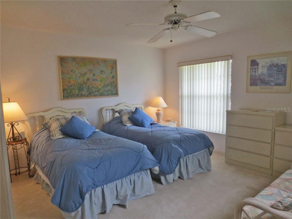 Guest bedroom - Villa for sale at 151 Inlets Blvd #151, Nokomis, FL 34275 - MLS Number is N6100469