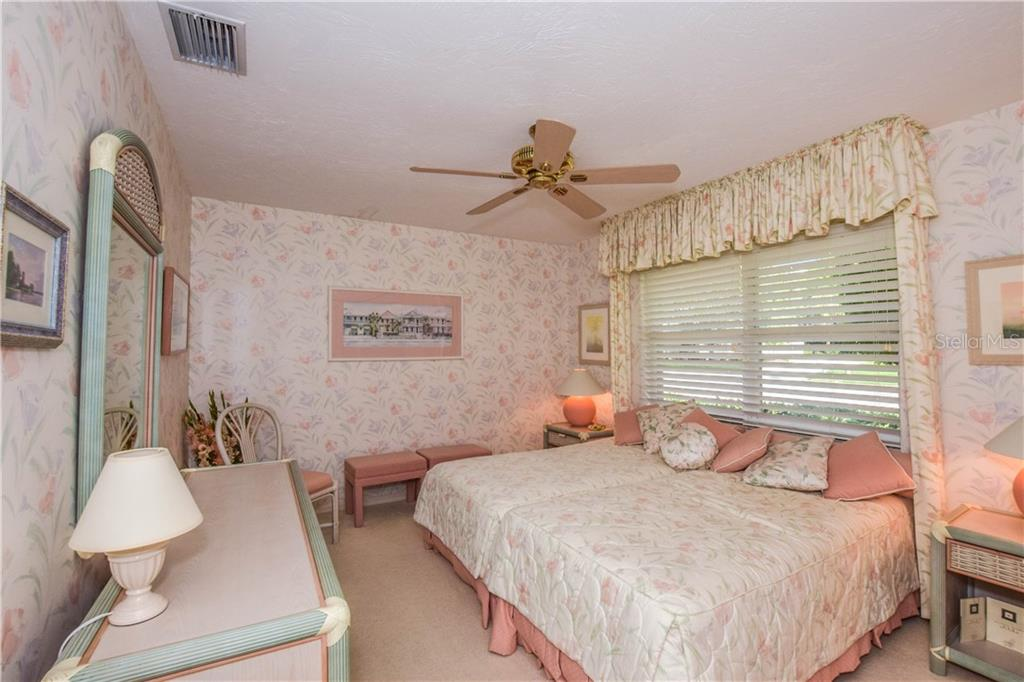Bedroom #3. - Single Family Home for sale at 837 Carnoustie Dr, Venice, FL 34293 - MLS Number is N6101166