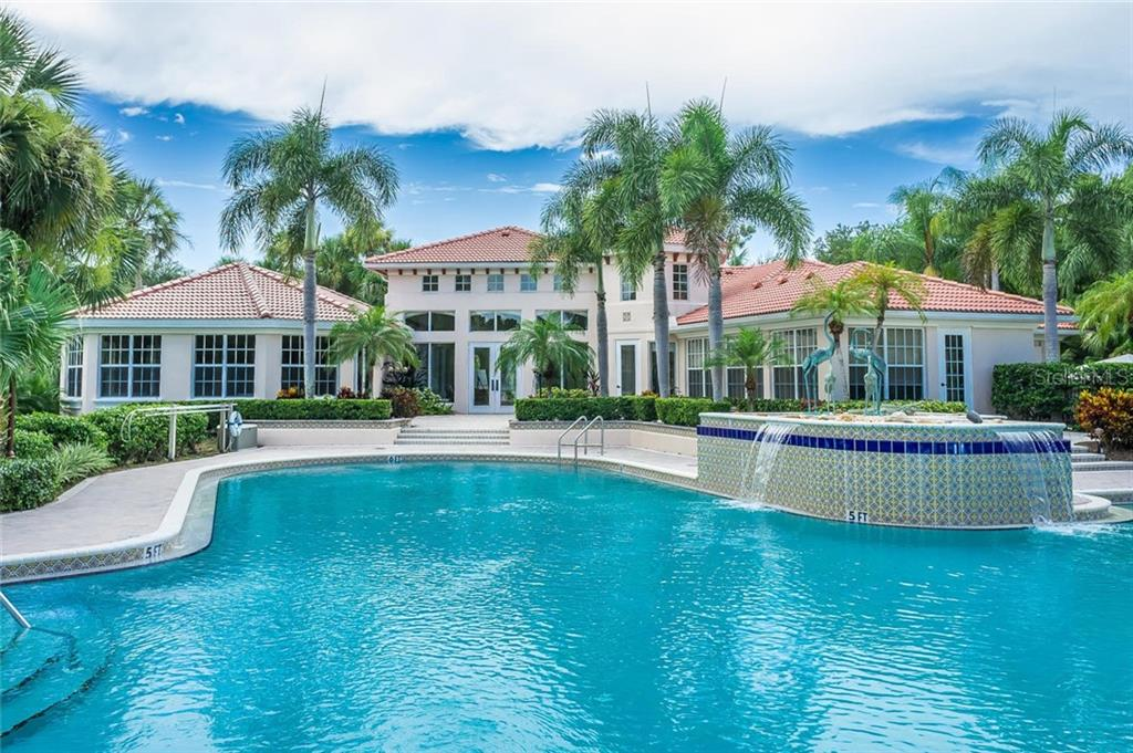 Sawgrass Community Pool - Single Family Home for sale at 368 Marsh Creek Rd, Venice, FL 34292 - MLS Number is N6101204