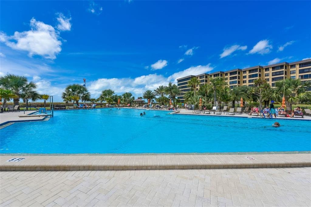 1 OF 3 POOLS - Condo for sale at 5740 Midnight Pass Rd #505 F, Sarasota, FL 34242 - MLS Number is N6102195