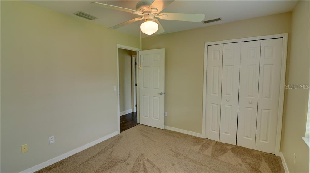 Bedroom 3 closet - Single Family Home for sale at 409 Palm Ave, Nokomis, FL 34275 - MLS Number is N6102313
