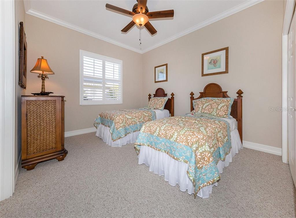 Bedroom 3 - Single Family Home for sale at 110 Martellago Dr, North Venice, FL 34275 - MLS Number is N6103159