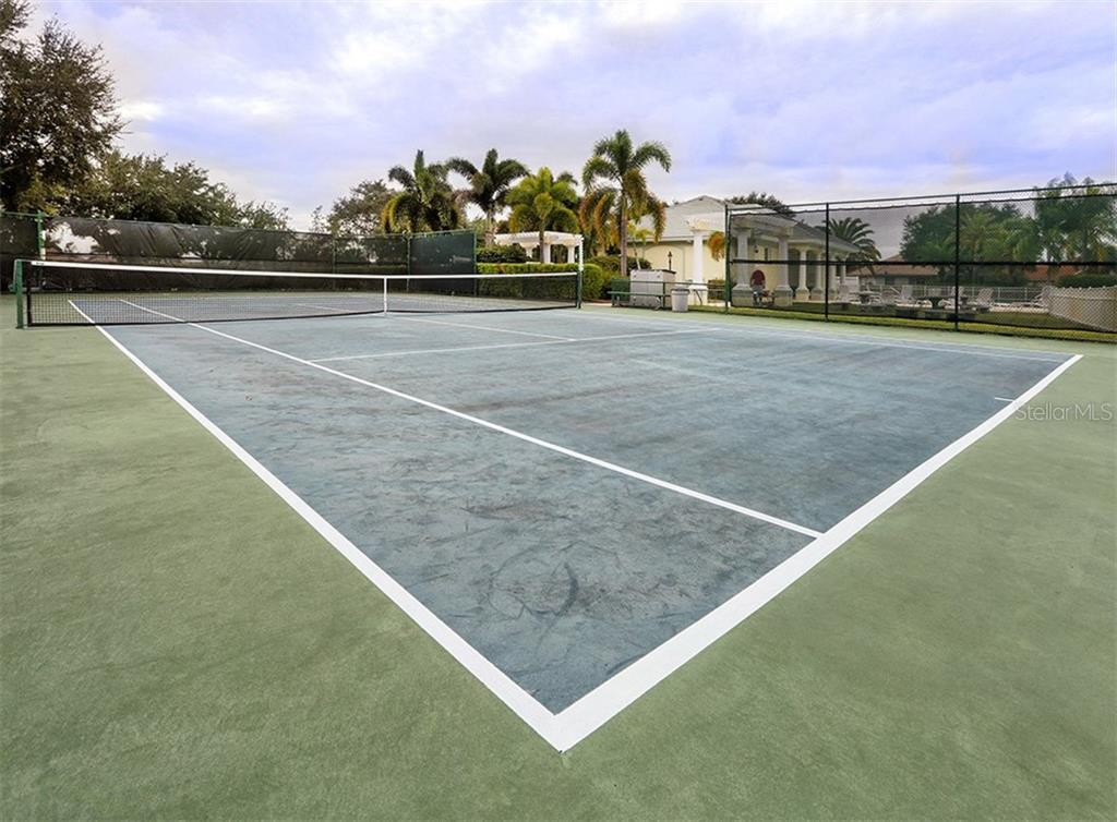 Tennis - Single Family Home for sale at 627 Lakescene Dr, Venice, FL 34293 - MLS Number is N6103268