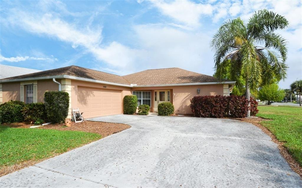 Front - Single Family Home for sale at 1460 Strada D Argento, Venice, FL 34292 - MLS Number is N6104612