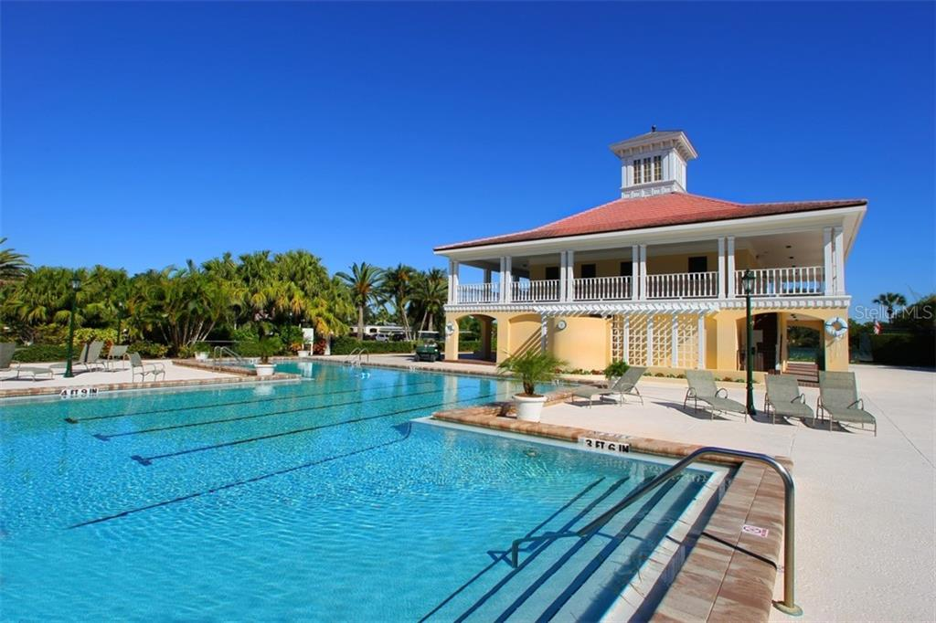 Community pool - Single Family Home for sale at 854 Macewen Dr, Osprey, FL 34229 - MLS Number is N6106697
