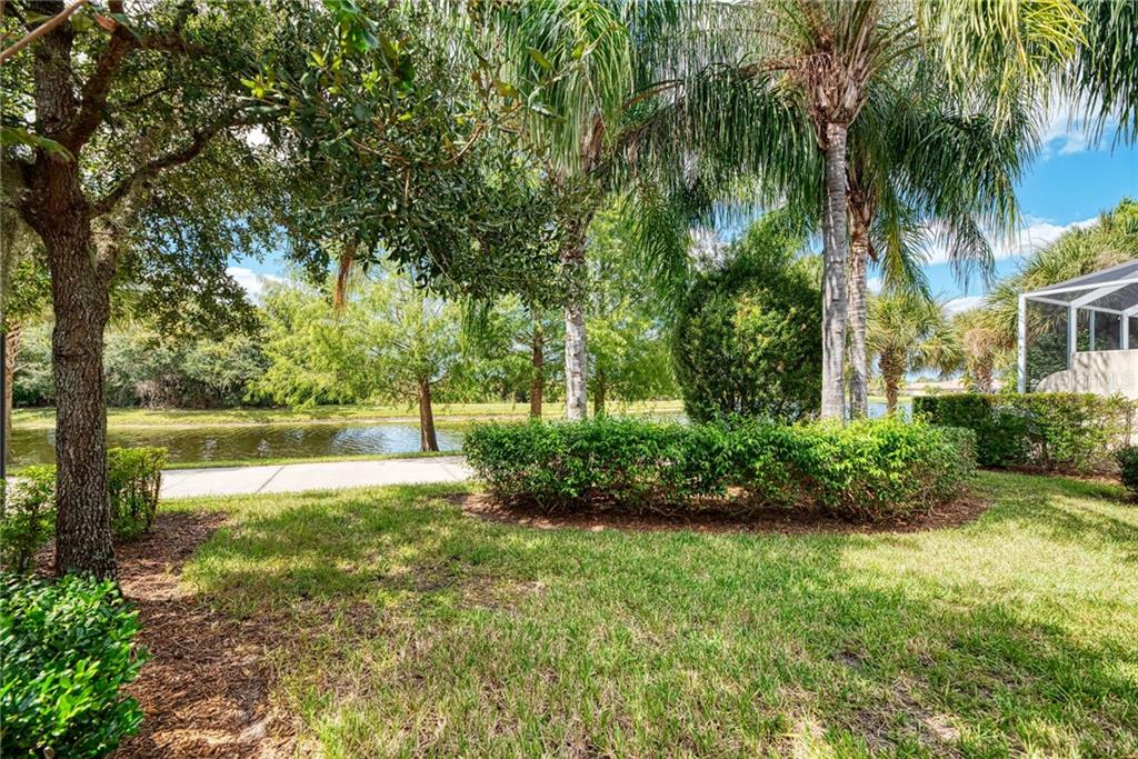 SIDE YARD - Single Family Home for sale at 13349 Ipolita St, Venice, FL 34293 - MLS Number is N6107109