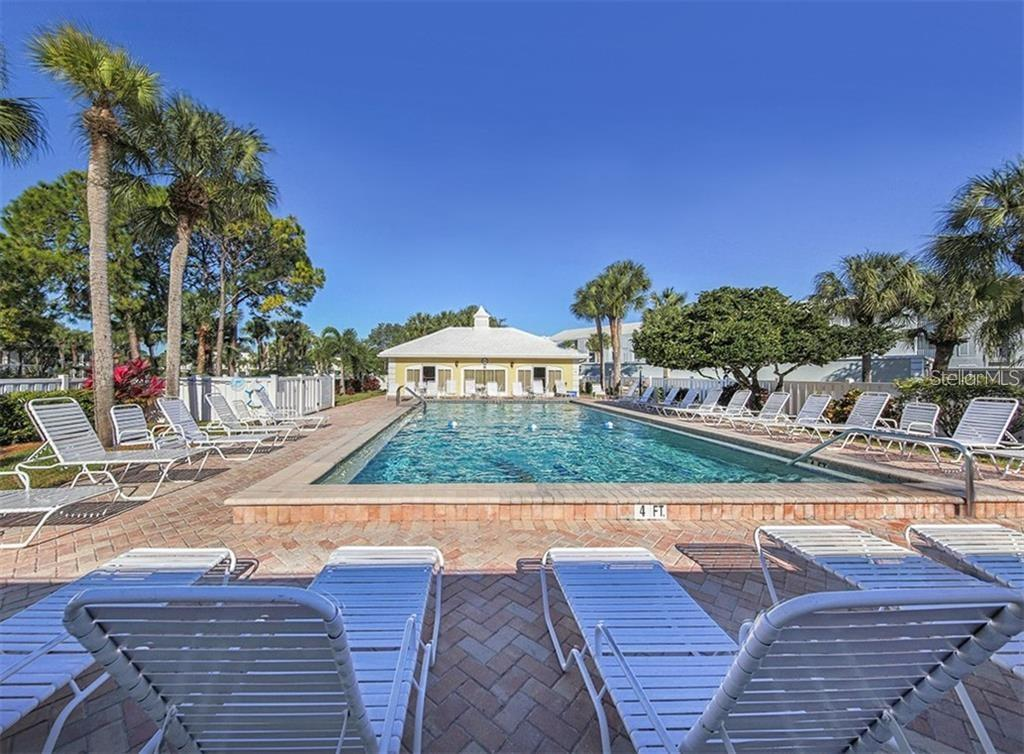 Westchester Gardens Community Pool - Condo for sale at 404 Cerromar Cir N #110, Venice, FL 34293 - MLS Number is N6107227