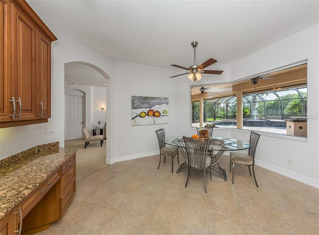 Dinette. - Single Family Home for sale at 262 Pesaro Dr, North Venice, FL 34275 - MLS Number is N6107589