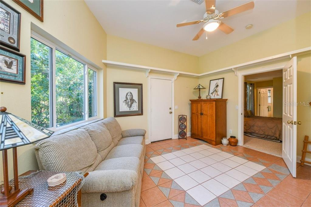 Guest bedroom/Art room - Single Family Home for sale at 7785 Manasota Key Rd, Englewood, FL 34223 - MLS Number is N6107786