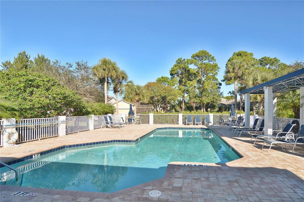 First of the three St Andrews pools - Condo for sale at 817 Montrose Dr #204, Venice, FL 34293 - MLS Number is N6108125