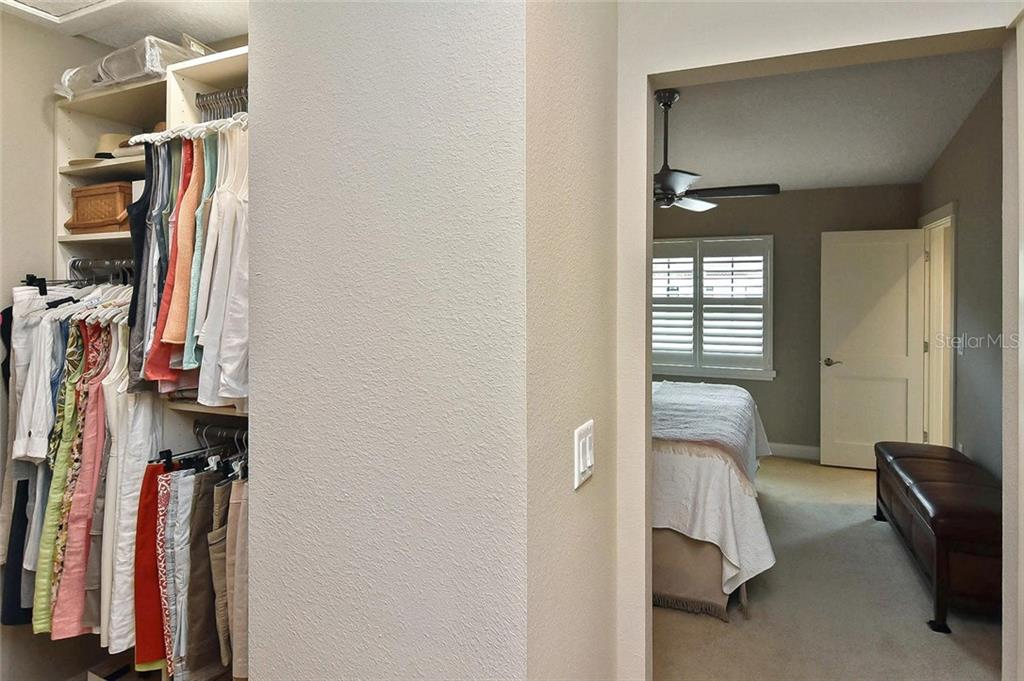 Walk-in closet to master bedroom - Condo for sale at 448 Palmetto Ct #B5, Venice, FL 34285 - MLS Number is N6109553