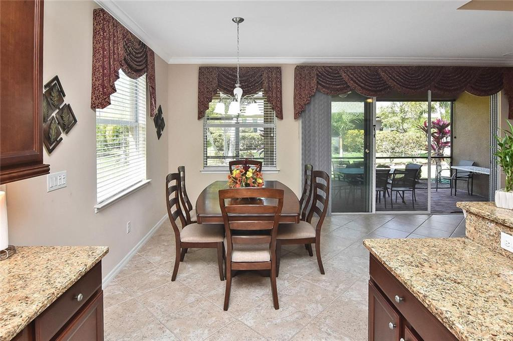 Dining room - Single Family Home for sale at 5093 Layton Dr, Venice, FL 34293 - MLS Number is N6109788