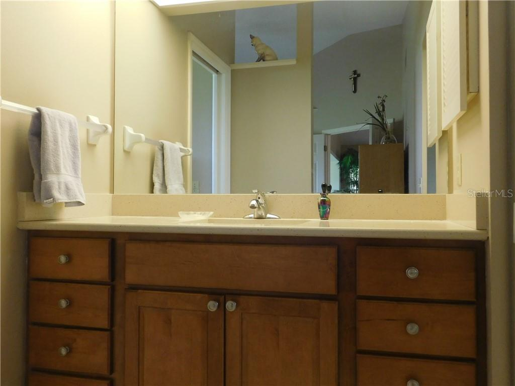 Master Bath - Villa for sale at 743 Harrington Lake Dr N #29, Venice, FL 34293 - MLS Number is N6111290