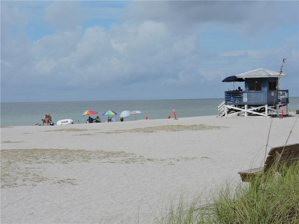 The pristine Beach area in Venice on the Gulf of Mexico - Condo for sale at 1041 Capri Isles Blvd #121, Venice, FL 34292 - MLS Number is N6112042