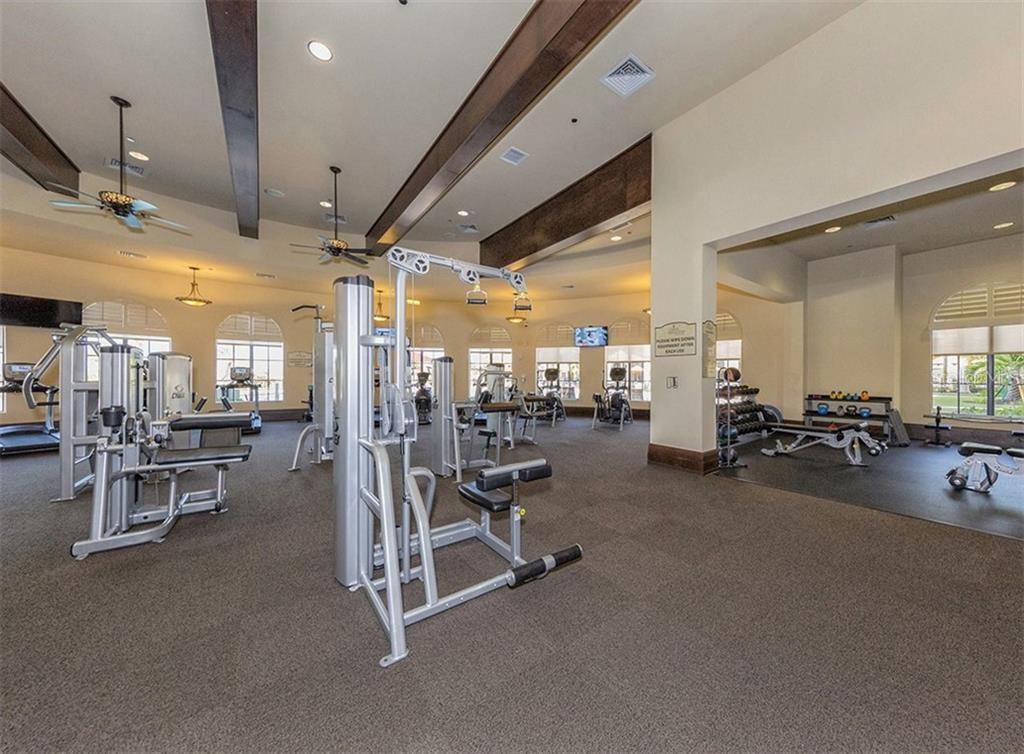 Gran Paradiso Fitness Center - Condo for sale at 20120 Ragazza Cir #201, Venice, FL 34293 - MLS Number is N6112061