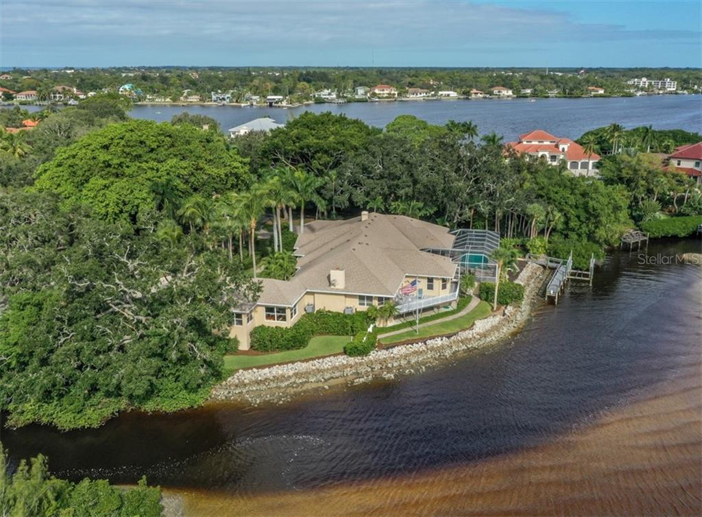 Aerial - Single Family Home for sale at 453 Anchorage Dr, Nokomis, FL 34275 - MLS Number is N6112707