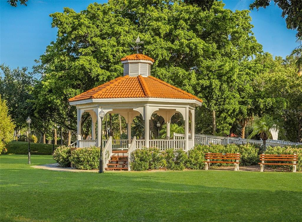Centennial Park gazebo - Single Family Home for sale at 1321 Guilford Dr, Venice, FL 34292 - MLS Number is N6113272