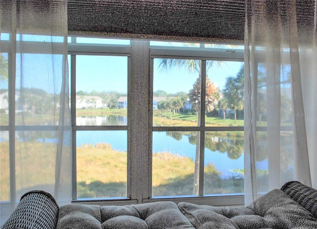 View from master bedroom - Condo for sale at 406 Laurel Lake Dr #203, Venice, FL 34292 - MLS Number is N6113915