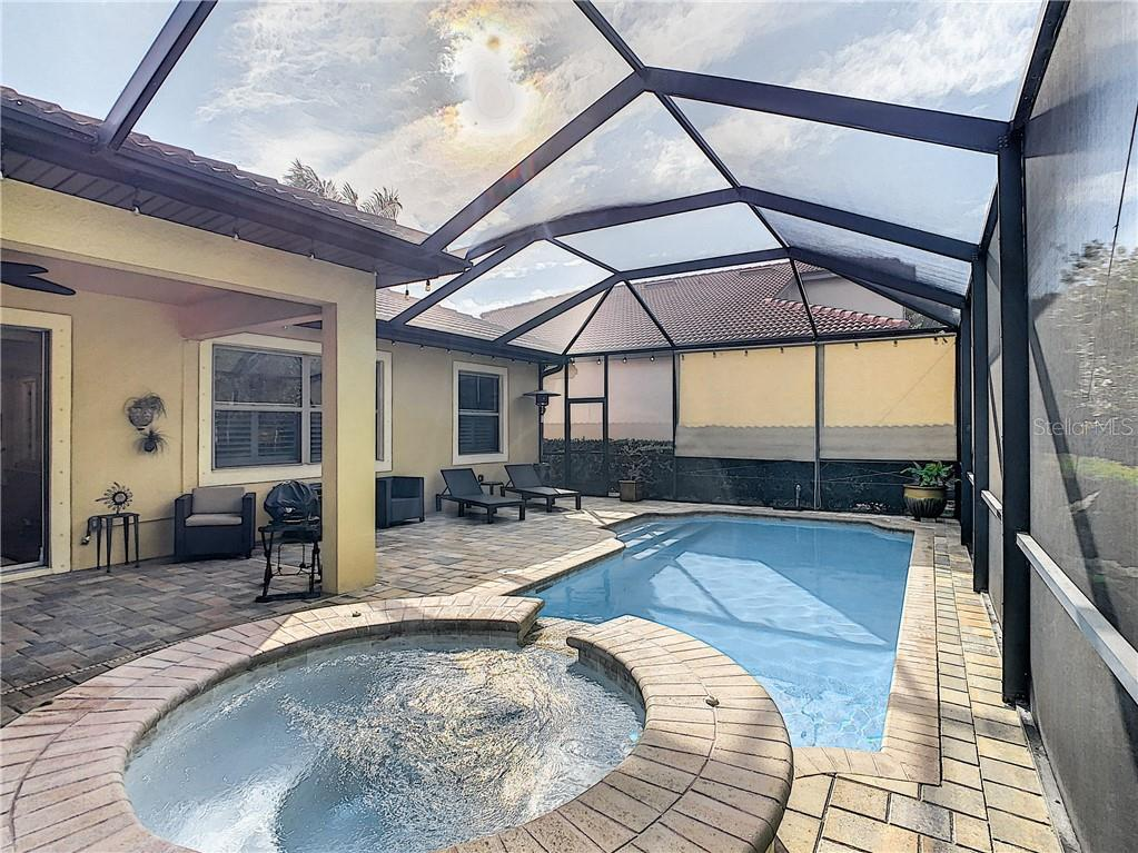 Spa/pool - Single Family Home for sale at 108 Maraviya Blvd, North Venice, FL 34275 - MLS Number is N6113946