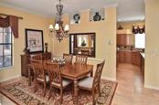 Dining room/kitchen - Single Family Home for sale at 769 Sawgrass Bridge Rd, Venice, FL 34292 - MLS Number is N5916484