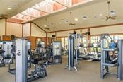 Fitness room at club house - Villa for sale at 1445 Maseno Dr, Venice, FL 34292 - MLS Number is N5916837