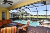 Lanai/pool - Single Family Home for sale at 277 Martellago Dr, North Venice, FL 34275 - MLS Number is N6100209