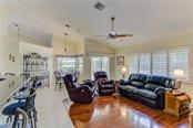 Family Room - Single Family Home for sale at 531 Pennyroyal Pl, Venice, FL 34293 - MLS Number is N6103229