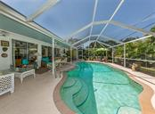 Pool/lanai - Single Family Home for sale at 429 Beach Park Blvd, Venice, FL 34285 - MLS Number is N6106119