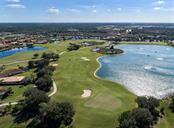 Aerial of golf course - Single Family Home for sale at 106 Vicenza Way, North Venice, FL 34275 - MLS Number is N6106168