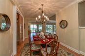 Formal dining room - Single Family Home for sale at 7785 Manasota Key Rd, Englewood, FL 34223 - MLS Number is N6107786