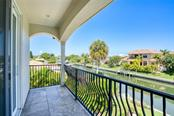 View from Another Master Balcony - Single Family Home for sale at 510 Bowsprit Ln, Longboat Key, FL 34228 - MLS Number is N6110334