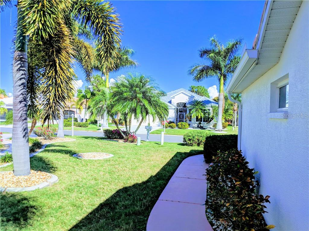 WALK WAY TO HOUSE - Single Family Home for sale at 26442 Feathersound Dr, Punta Gorda, FL 33955 - MLS Number is C7412660