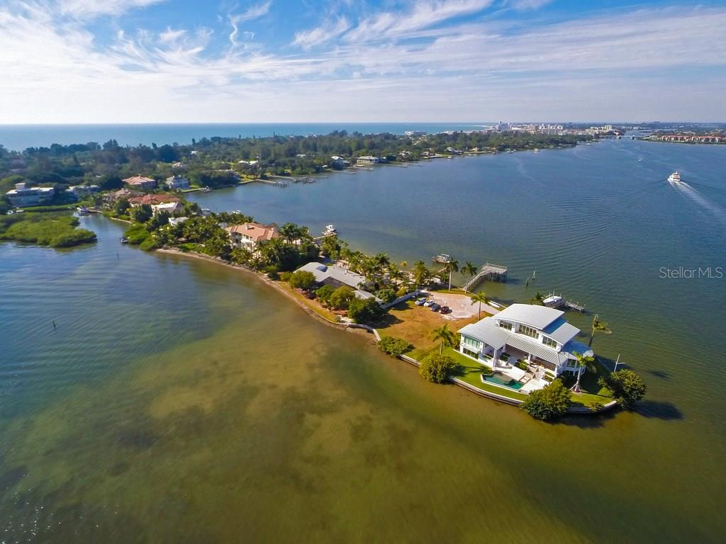 Single Family Home for sale at 1430 Point Crisp Rd, Sarasota, FL 34242 - MLS Number is A4171709