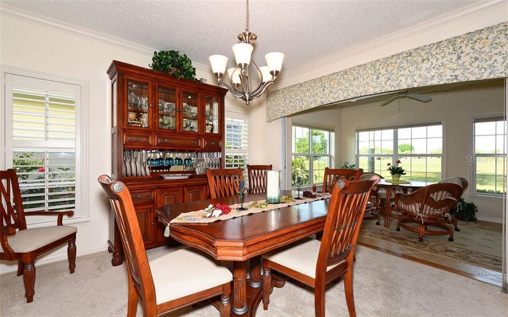 Formal Dining Room Makes Special Meals Extra Enjoyable