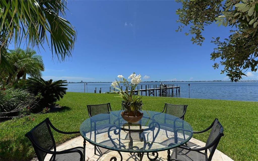Private boat dock. - Single Family Home for sale at 2145 Alameda Ave, Sarasota, FL 34234 - MLS Number is A4414337