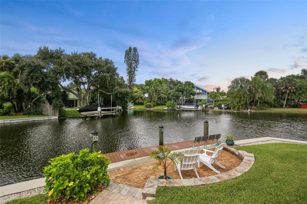 Fishing Dock - Single Family Home for sale at 4847 Primrose Path, Sarasota, FL 34242 - MLS Number is A4415116