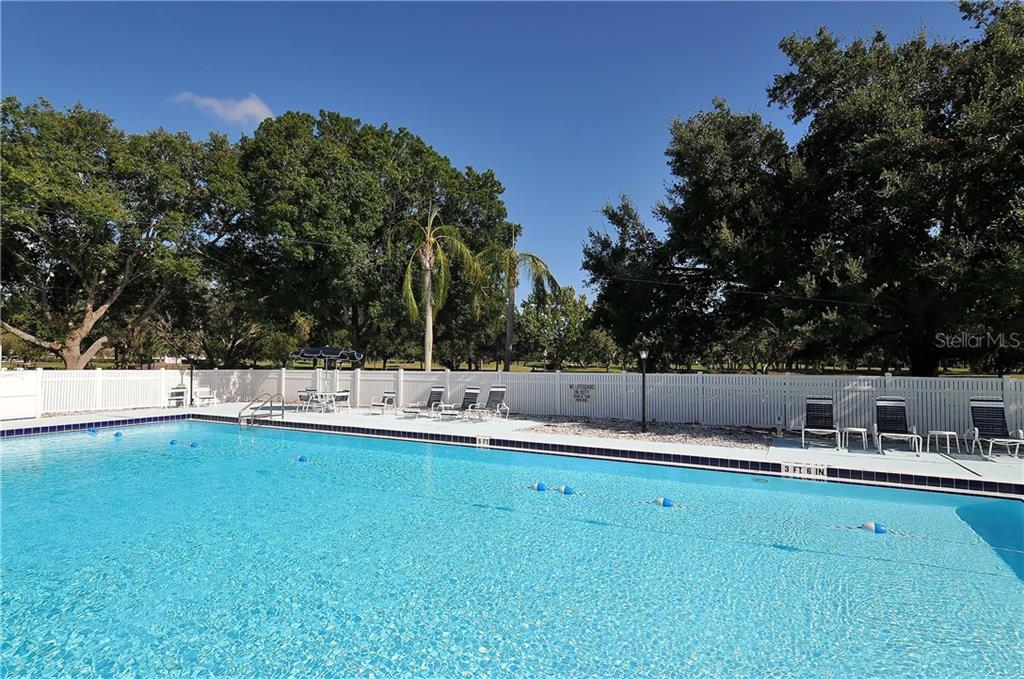 Palm-Aire Country Club community swimming pool. Memberships available. - Single Family Home for sale at 8106 Timber Lake Ln, Sarasota, FL 34243 - MLS Number is A4423770