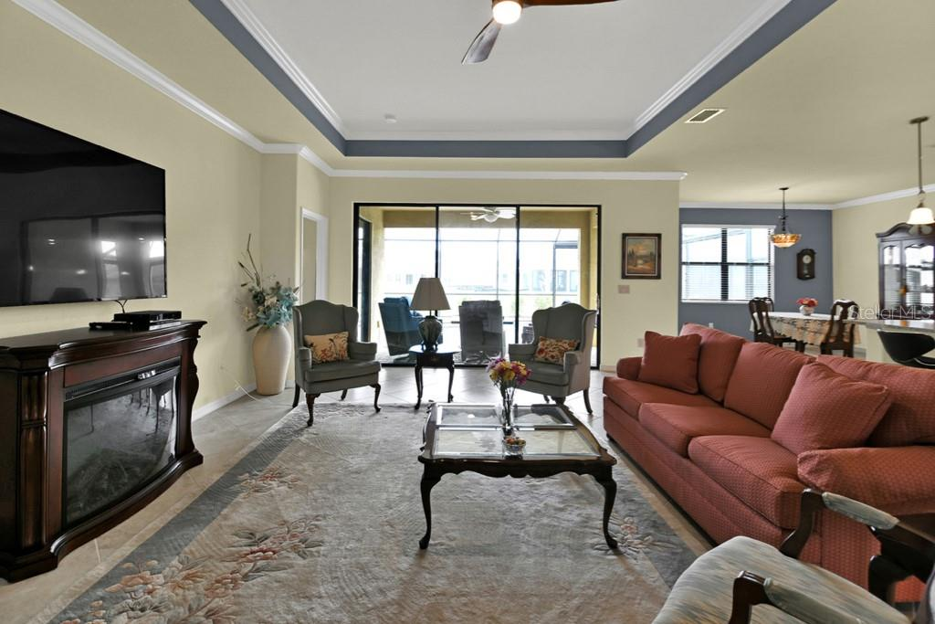 Great Room - Single Family Home for sale at 2937 Desert Plain Cv, Lakewood Ranch, FL 34211 - MLS Number is A4431016