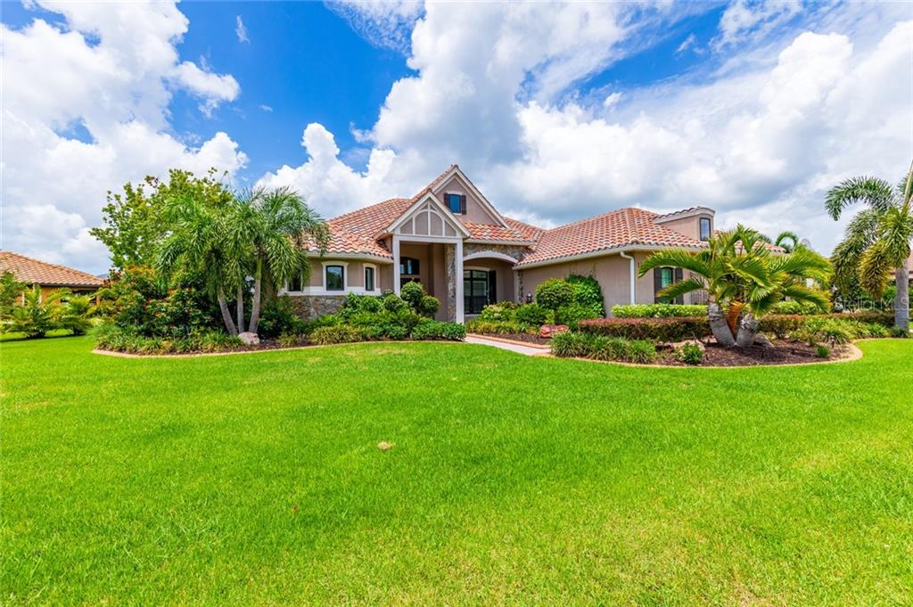 Arial - Single Family Home for sale at 11728 Rive Isle Run, Parrish, FL 34219 - MLS Number is A4439074