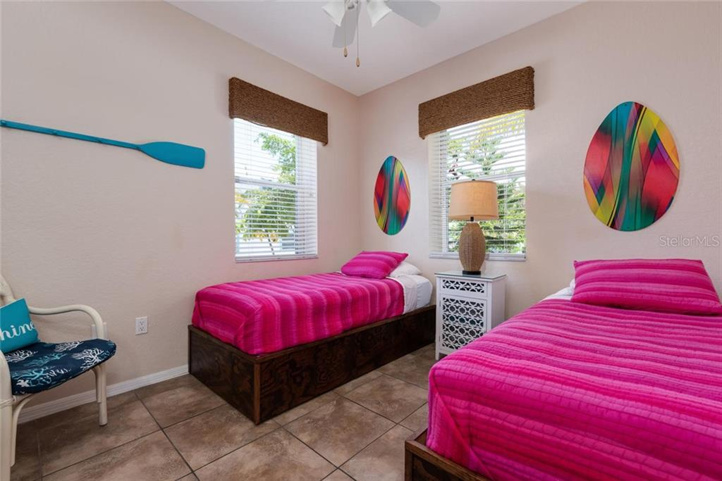 Stallion Bedroom. - Single Family Home for sale at 523 Beach Rd, Sarasota, FL 34242 - MLS Number is A4446354
