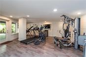 State of the art exercise room. - Single Family Home for sale at 6841 Peacock Rd, Sarasota, FL 34242 - MLS Number is A4430828